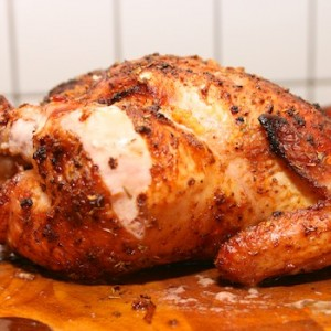 BBQ grillad citron & vitlöks kyckling