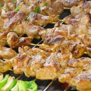 Shish kebab - Direktgrillat