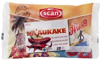Na'aukake - årets va´hette´re-korv från SCAN