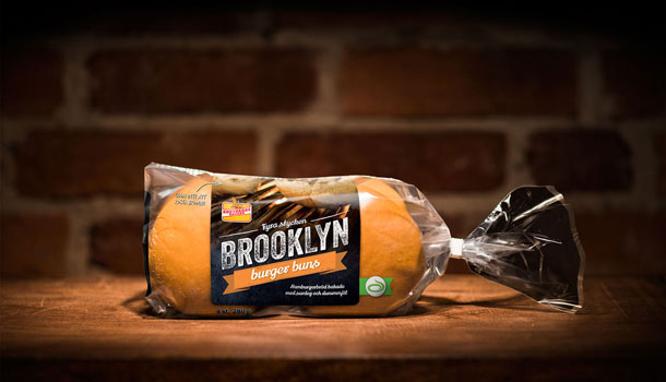 Korvbrödsbagaren - Brooklyn buger buns