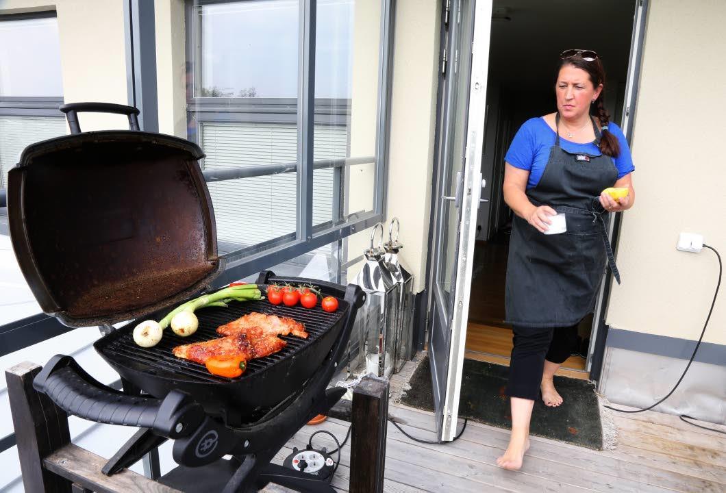 Terrass grill