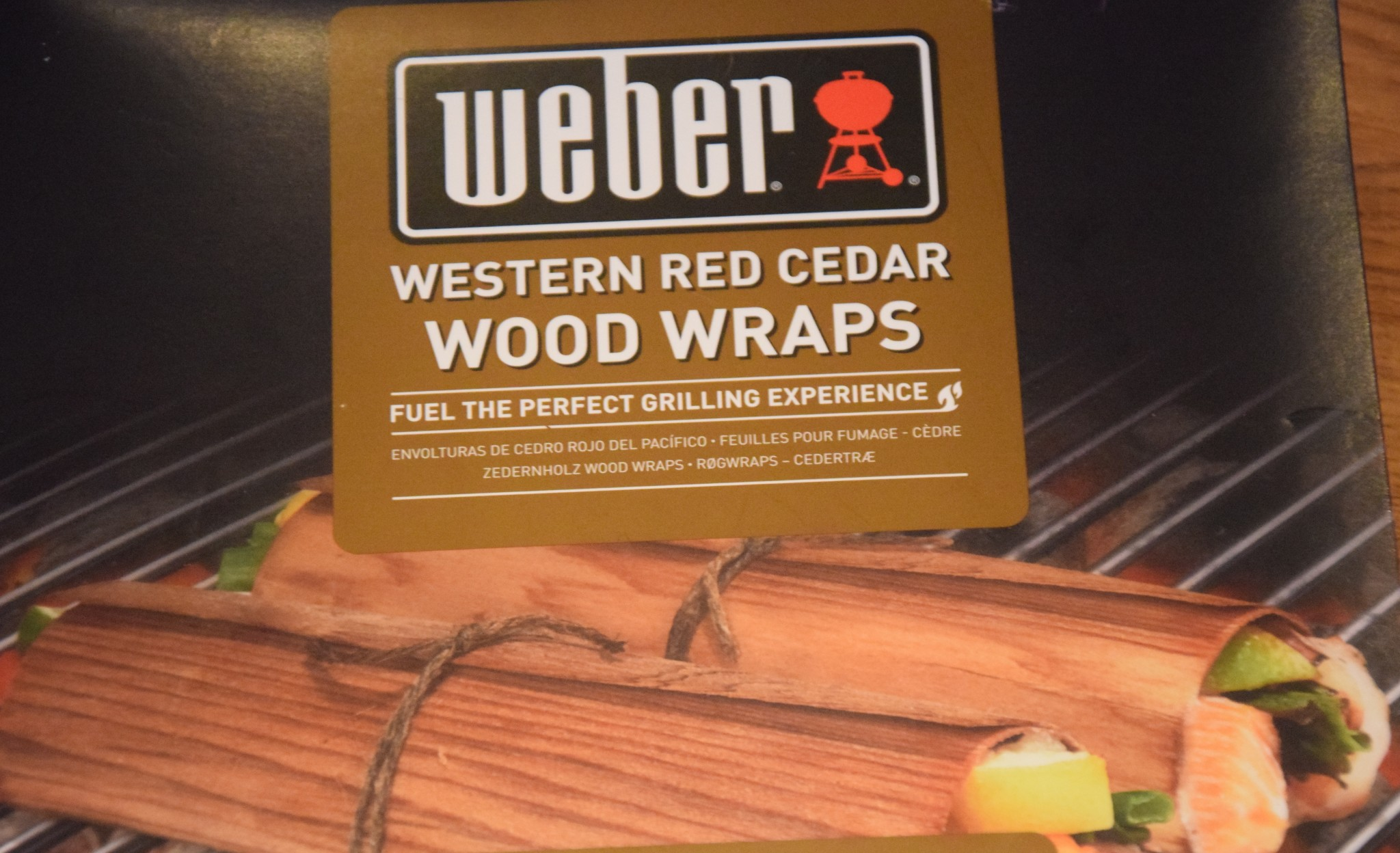Weber Western Red Cedar Wood Wraps